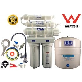 4 stage Reverse Osmosis Water Filter System Undersink