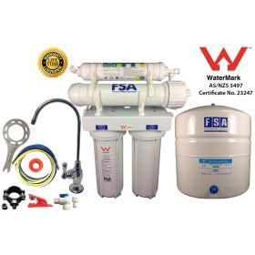 5 stage Reverse Osmosis Water Filter System Undersink Alkaline Filter