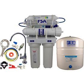 7 Stage Hydrogen-Rich Reverse Osmosis Water Filter System High Alkaline Undersink